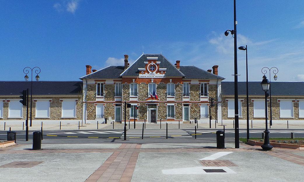 Plan De La Ville Le Coudray Montceaux